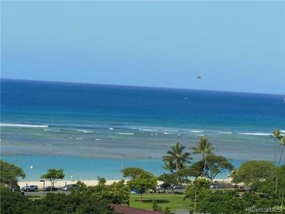Honolulu HI Condo/Townhouse In Escrow Showing: $880,000