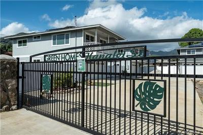Single Family Home For Sale: 84-808 Hanalei Street #A2