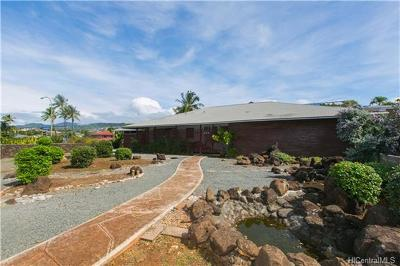 Single Family Home In Escrow Showing: 855 Hunakai Street