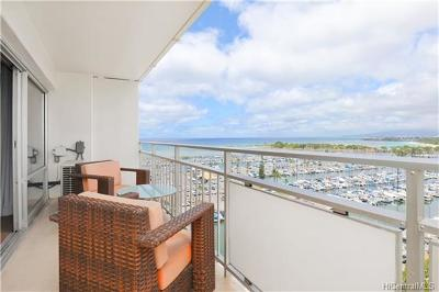 Honolulu County Condo/Townhouse For Sale: 1777 Ala Moana Boulevard #1235