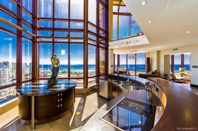 Honolulu HI Condo/Townhouse For Sale: $4,600,000