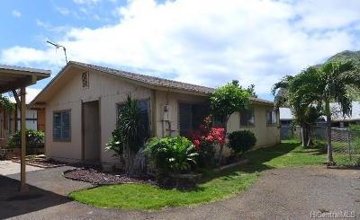 Waianae Single Family Home For Sale: 84-174 Nukea Place