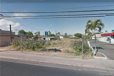 Honolulu County Residential Lots & Land For Sale: 85-817 Farrington Highway