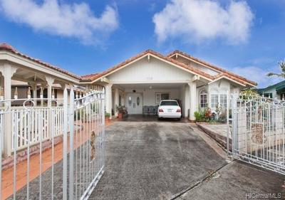 Wahiawa Single Family Home For Sale: 109 Kaniko Place