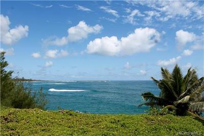 Honolulu County Residential Lots & Land In Escrow Showing: 55-061 Naupaka Street