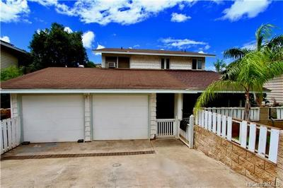 Honolulu County Single Family Home For Sale: 86-305 Alamihi Street