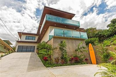 Kailua HI Single Family Home In Escrow Showing: $2,480,000