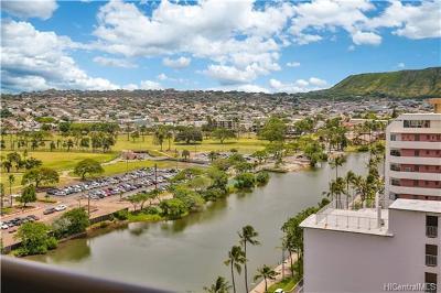 Hawaii County, Honolulu County Condo/Townhouse In Escrow Showing: 320 Liliuokalani Avenue #1702