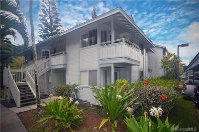 Mililani Condo/Townhouse For Sale: 95-782 Wikao Street #N102