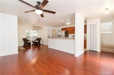 Mililani Single Family Home For Sale: 95-1329 Wikao Street #52