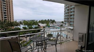 Honolulu County Condo/Townhouse For Sale: 1777 Ala Moana Boulevard #520