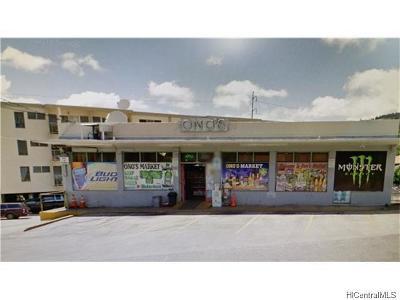 Honolulu County Commercial In Escrow Not Showing: 1912 Kalihi Street