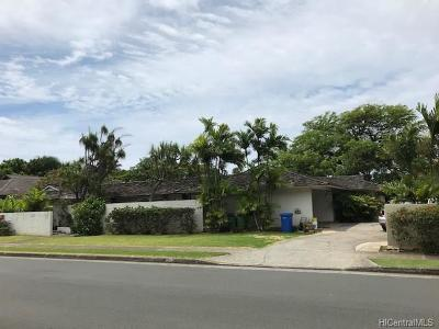 Single Family Home For Sale: 1161 Waiholo Street