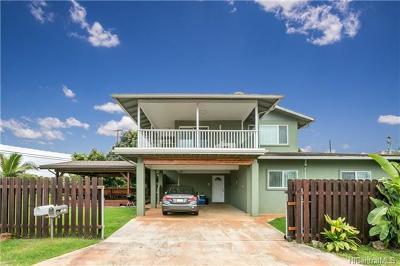 Waialua Single Family Home In Escrow Showing: 66-910 Kiekonea Way
