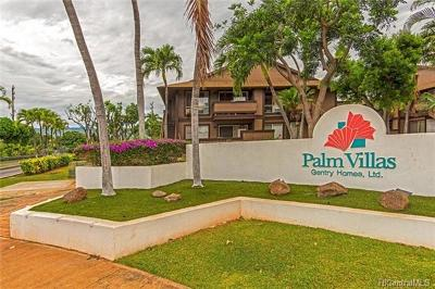 Ewa Beach Condo/Townhouse In Escrow Showing: 91-1135 Puamaeole Street #20D