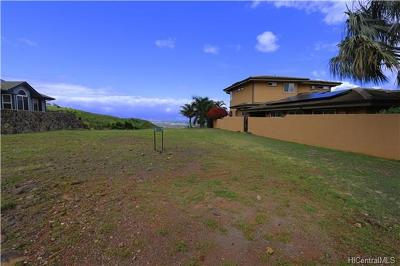 Honolulu County Residential Lots & Land For Sale: 92-1365 Hoalii Street