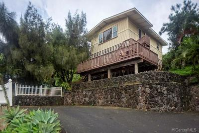 Kaneohe Single Family Home In Escrow Showing: 45-567 Keaahala Road #D