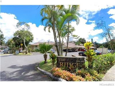 Mililani Condo/Townhouse In Escrow Showing: 95-510 Wikao Street #K106