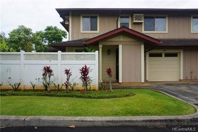 Mililani Condo/Townhouse In Escrow Showing: 95-987 Ukuwai Street #2406