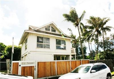 Haleiwa Single Family Home In Escrow Showing: 58-101 Mamao Street