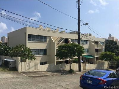 Honolulu Condo/Townhouse In Escrow Showing: 502 Captain Cook Avenue #103