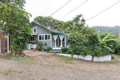 Haleiwa Single Family Home For Sale: 59-585 Ke Iki Road #C