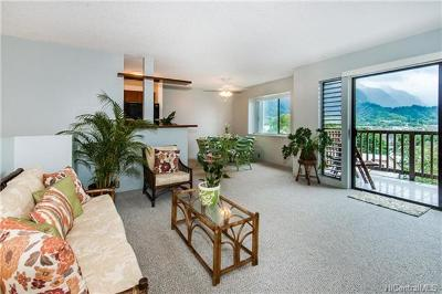 Kaneohe Condo/Townhouse In Escrow Showing: 46-034 Puulena Street #714