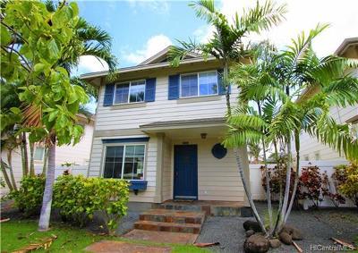 Ewa Beach Single Family Home For Sale: 91-1221 Kaiopua Street