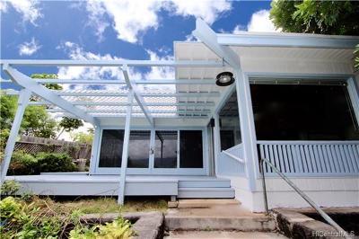 Kaneohe Single Family Home For Sale: 44-115 Mikiola Drive