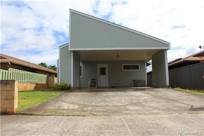 Mililani Single Family Home For Sale: 95-475 Kaukoe Street