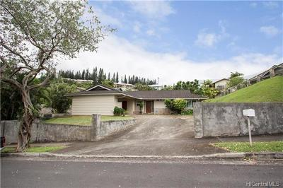 Kaneohe Single Family Home In Escrow Showing: 46-220 Yacht Club Street