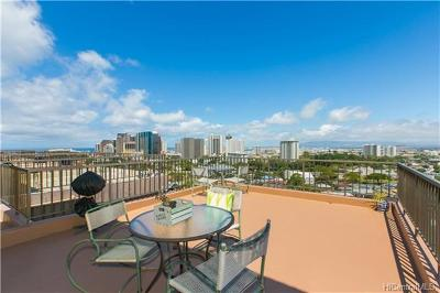 Honolulu Condo/Townhouse For Sale: 217 Prospect Street #M 7