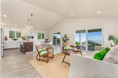 Hawaii County Single Family Home In Escrow Not Showing: 73-1060 Mala Pua Court