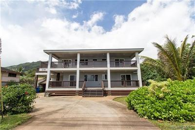 Hauula Single Family Home For Sale: 53-694 Kamehameha Highway