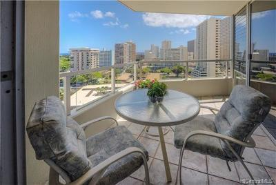 Honolulu Condo/Townhouse For Sale: 2600 Pualani Way #1403