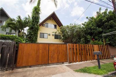 Waialua Single Family Home In Escrow Showing: 68-167 Au Street