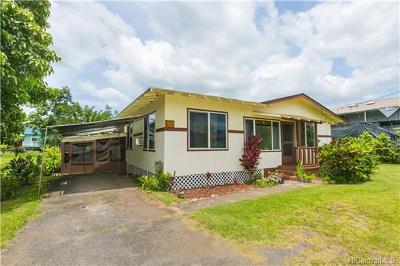 Haleiwa Single Family Home In Escrow Showing: 66-124 Keahipaka Lane