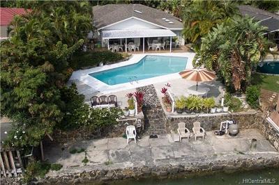 Honolulu County Single Family Home For Sale: 6715 Hawaii Kai Drive