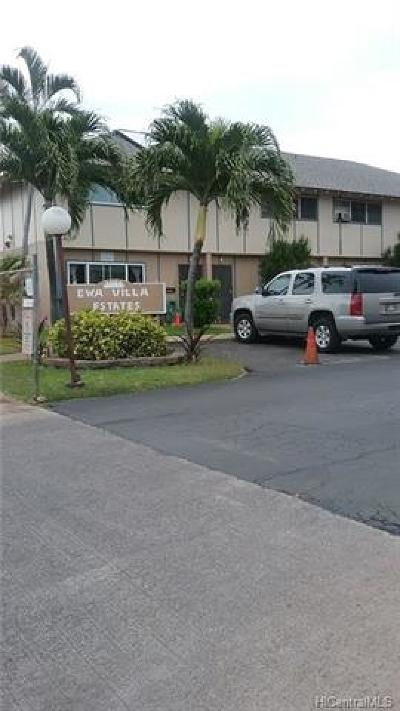 Ewa Beach Condo/Townhouse For Sale: 91-623 Kilaha Street #32