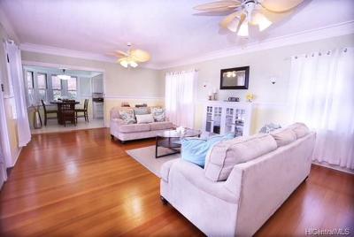 Honolulu HI Single Family Home For Sale: $1,375,000