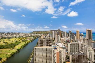 Honolulu Condo/Townhouse For Sale: 445 Seaside Avenue #3905