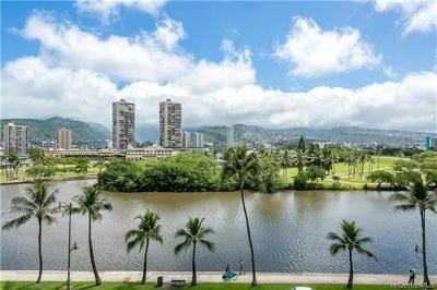 Honolulu Condo/Townhouse For Sale: 2233 Ala Wai Boulevard #6B