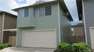 Ewa Beach Single Family Home For Sale: 91-1018f Hoomaka Street #97