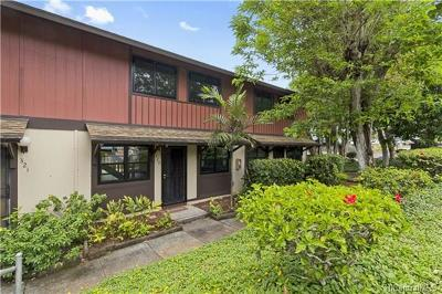 Mililani Condo/Townhouse In Escrow Showing: 94-192 Anania Drive #320