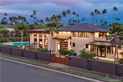Honolulu HI Single Family Home For Sale: $5,250,000