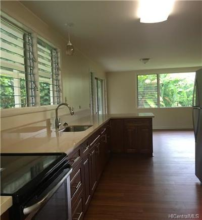 Kaneohe Rental For Rent: 47-459 Mapele Road