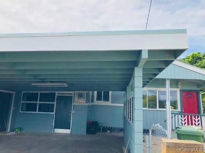 Waipahu Single Family Home For Sale: 94-373 Waipahu Street