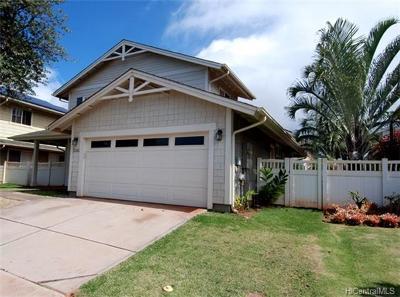 Kapolei Single Family Home For Sale: 92-6048 Nemo Street #45