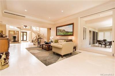 Single Family Home For Sale: 1030 Kealaolu Avenue