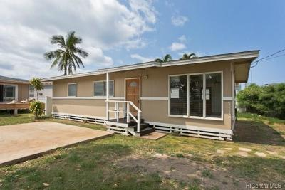 Waianae Single Family Home For Sale: 84-1132 Hana Street #A